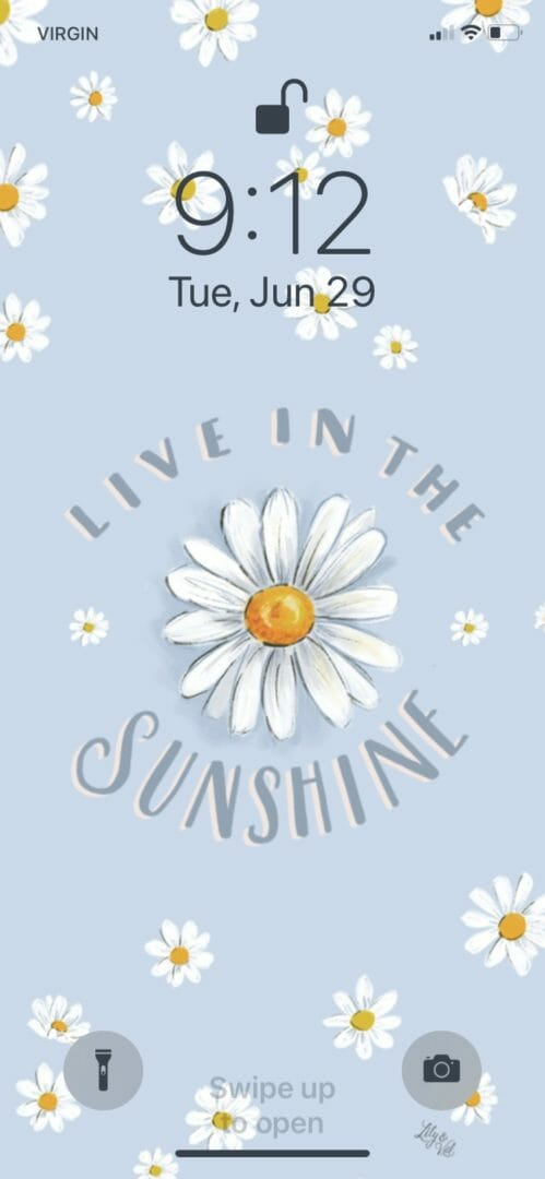Live in the Sunshine free wallpaper