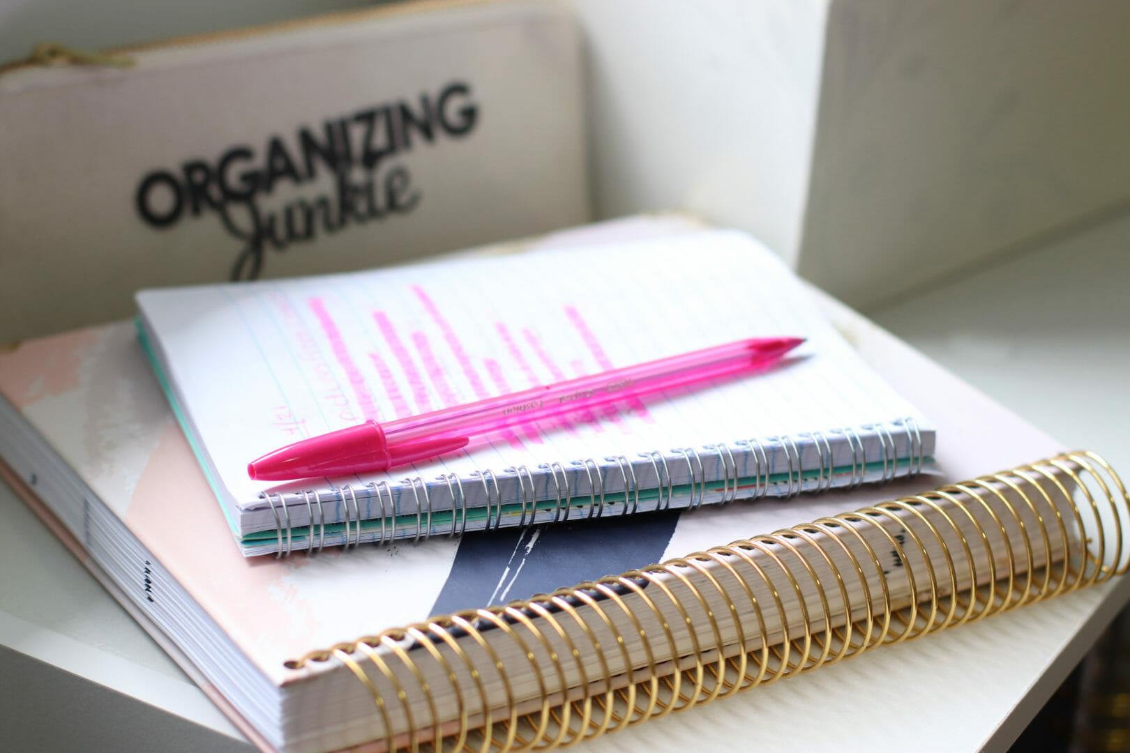 organizing strategies